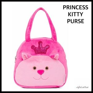 Other - KITTY PLUSH NOVELTY CAT MINI PURSE BAG
